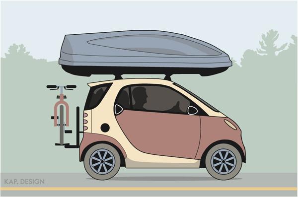 'Microcar' by KAP. Design