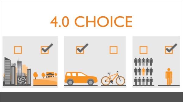 Choice-slide