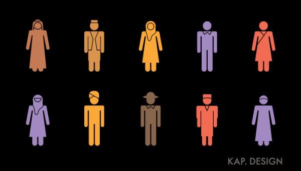 Diversity icons by KAP Design