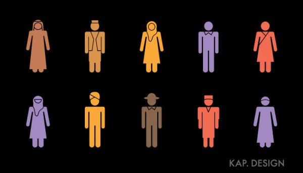 Diversity icons by KAP Design